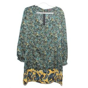 Mark by Avon - Paisley long sleeve dress